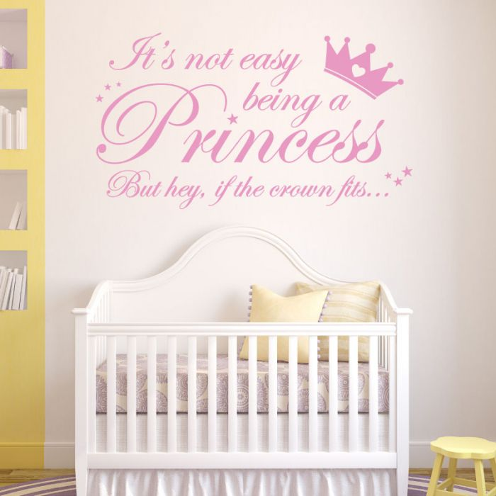 Wall Designer Its Not Easy Being A Princess But Hey If The