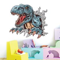 Roaring T-Rex Dinosaur Claws - Boys Bedroom Wall Sticker