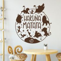 Hakuna Matata - Disney Lion King Inspired Decal Wall Sticker