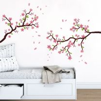 Cherry Blossom Branch - Decal Wall Sticker